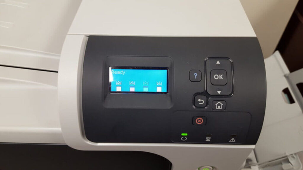 how to reset hp printer password